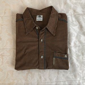 Columbia long sleeve button up flannel